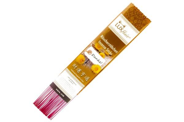 """XL chinesische Räucherstäbchen """"Danke"""" mit Lavendel-Duft"""